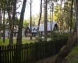 Kościół drewniany i ośrodek rekolekcyjno-wczasowy Zmartwychwstańców w Dębkach