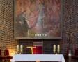 Obraz Miłosierdzia Bożego w ołtarzu głównym kościoła św. Jana Kantego (2010)