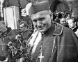 Ks. abp. Karol Wojtyła i ks. abp. Stefan Wyszyński w Katedrze Poznańskiej - 1966