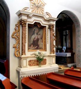 Ołtarz św. Teresy – Uzarzewo