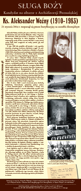 Plakat do gabloty (30x70 cm)