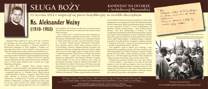 Plakat do gabloty (70x30 cm)